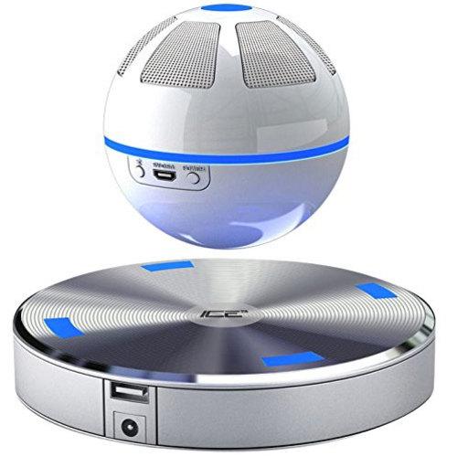 Midsize white speaker